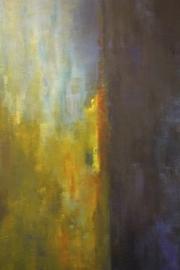 Oil painting, Véro Nicolet, 2004
