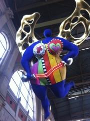 Sculpture by Niki de Saint Phalle, Zurich railway station