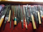 Tools in a workshop for restoring art works (2)