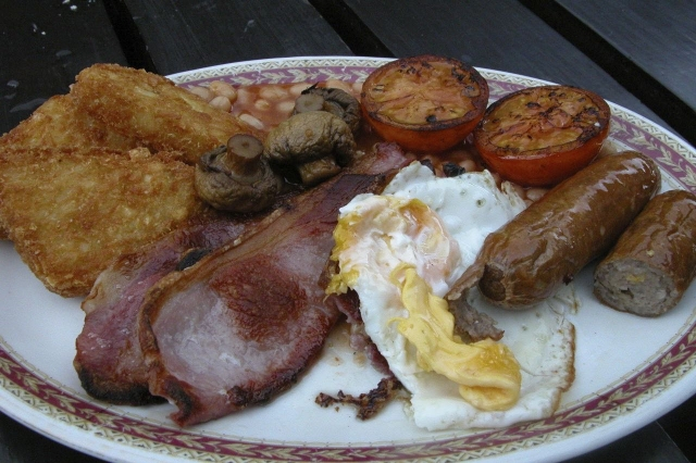 Anyone for English breakfast?