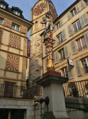 Fountain, Croix du Marché