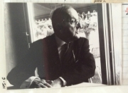 Notebook 9 Pg.53. Filming with James Joyce's last secretary for a video by Jean Paul Fargier.