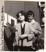 Anne-Marie Duguet & Patrick Prado at the Montebliard Video Festival (1982)