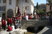 The inauguration of the new water wheel