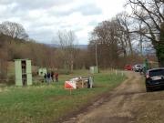 Balltrap: shooting on a windy day