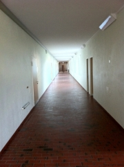 The unending corridor has cropped up in several of my novels