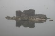 The lake near Saint-Blaise