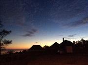 Sunset over Saint-Blaise
