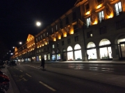 The Corraterie at Night, Geneva