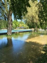 La Tene. Flooding Spring 2015.