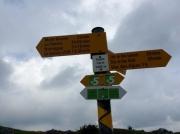 Jura - signpost