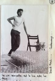 David Mach, sculpter, Andante Rottorno