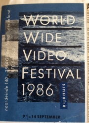 World Wide Video Festival 1986 at the Kijkhuis