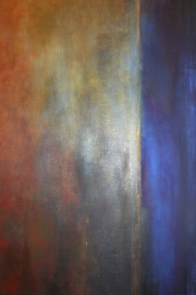 Oil painting, Véro Nicolet, 2004