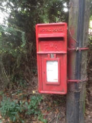 Letter box, England