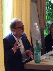 Tim Lott, Fiction Master Class, Geneva, April 18th 2015