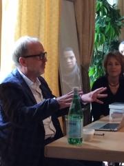 Tim Lott, April 18th 2015Tim Lott, Fiction Master Class, Geneva, April 18th 2015