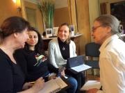 GWG Folk Story workshop: Mally, Alnaaze, Lais, Sylvia