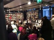Carmen Bugan reading, Susan introducing