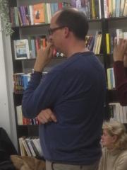 Reading Offshoots at BooksBooksBooks - Matthew Wake