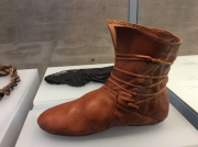 Reconstruction of celtic shoe
