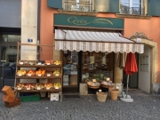 Ceres, tiny health food shop, Place du Marché