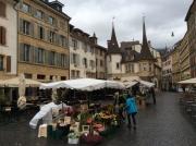 Open air market, Neuchatel