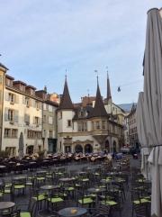 Restaurant des Halles, Place du Marché