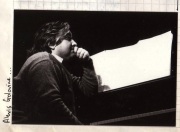 Alexis Golovine during a video about La Cantate Interrompue by Jacques Guyonnet (1982)