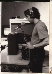 Francois Musy went on to work as sound engineer for people like Jean-Luc Goddard. (1982)