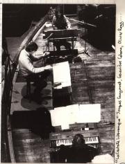Jaques Guyonnet, Genviève Calame & Lionel Rogg performimg La Cantate Interrompue (1982)