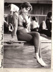 Suzanne, dancer from the Soeurs Chacha. (1984)