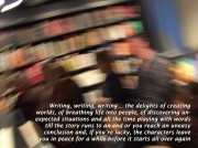 Writing writing writing