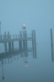 The jetty in the mist