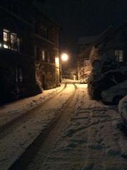 A snowy Saint-Blaise
