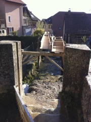 Repairing the waterwheel