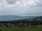 Jura - view over lake